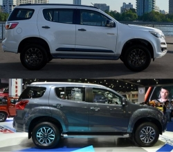 So sánh Chevrolet Trailblazer 2018 và Toyota Fortuner 2018